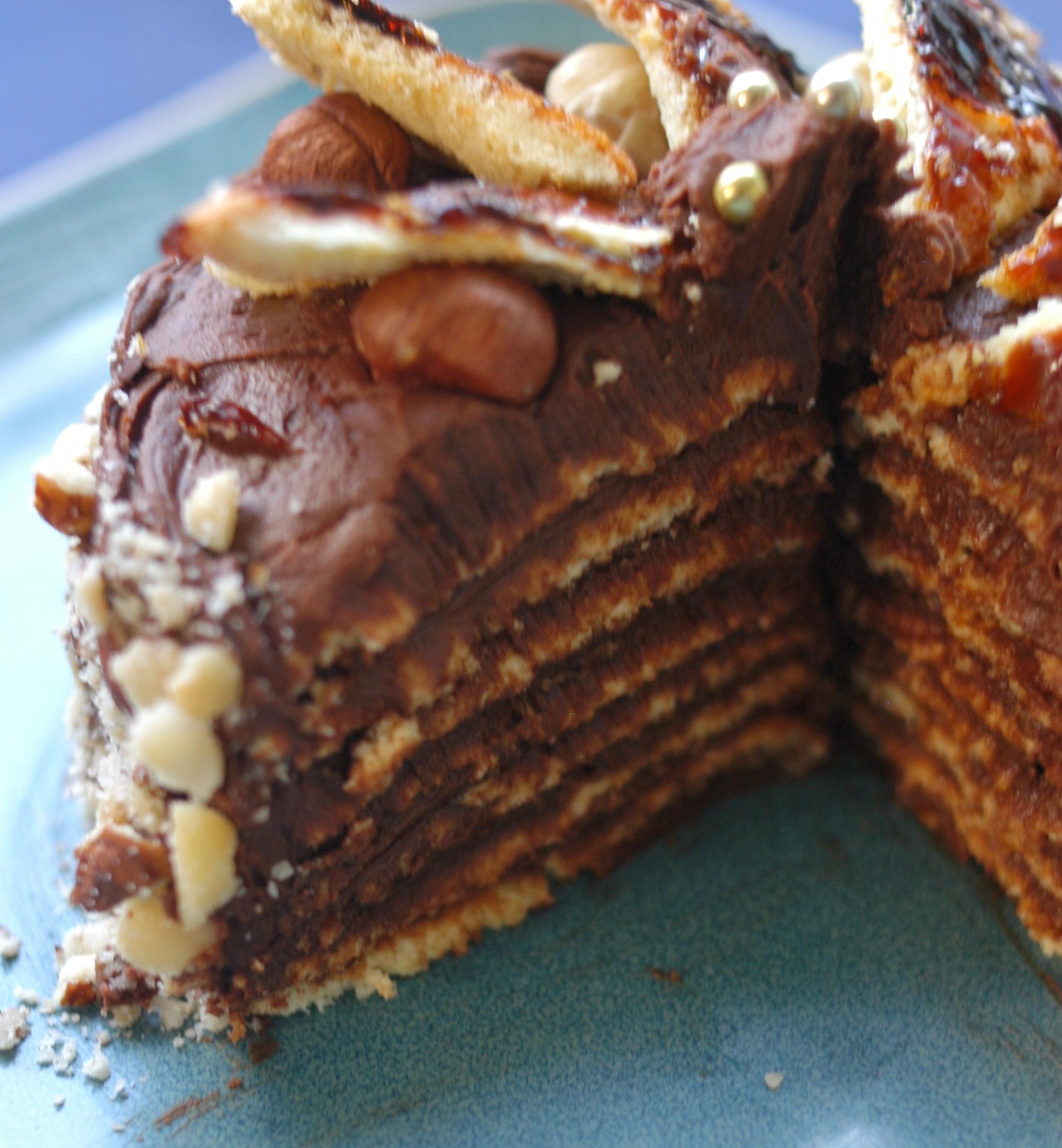 Hungary: Dobos Torte | The Wayfaring Baker
