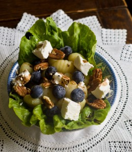 Blueberry, Feta and Pecan Salad