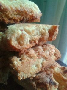 Apricot, Almond and White Chocolate Biscotti 2