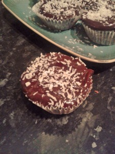 Coconut Chocolate Cupcakes