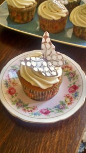 Mint Humbug Cupcake
